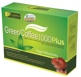 4 pack GREEN COFFEE 1000 plus